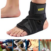 Yosoo Foot Ankle Orthosis Corrector Strap Brace Drop Support Plantar Fascistic