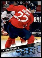 2020-21 UD Series 2 Base Young Guns #473 Chase Priskie RC - Florida Panthers