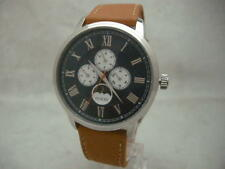 SALE: Authentic Guess U0870G4 Multifunction Genuine Leather Brown Men's Watch