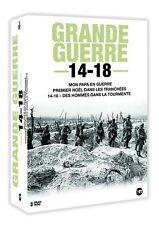 Grande Guerre 14-18  Coffret 3 DVD Neuf sous cellophane