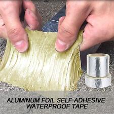 Super Aluminum Foil Rubber Waterproof Tape Self Adhesive Roof Pipe Marine Repair