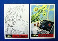 MARS ATTACKS THE REVENGE LEN BROWN & LAYRON AUTOGRAPHED COLLABORATION CARD #48