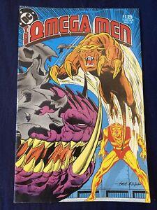 The Omega Men Comic Book No 9 December 1983 DC Comics Collectible Magazine