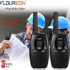 FLOUREON 8Ch Twin Walkie Talkies PMR 446MHZ 2-Way Radio 5000M Range Interphone