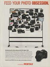 Pentax K-5 SLR Camera - Original Magazine AD - 2011