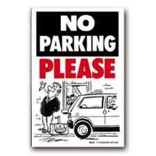 No hay aparcamiento identifícate