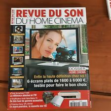 la Revue du son  N°302 de 2006-DOSSIER HOME CINEMA-panasonic-sharp-pioneer-ca72