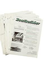 23 Issues of Boatbuilder Magazine 1999-2002