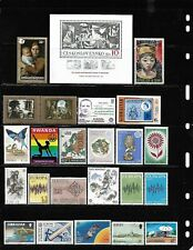 World, Collection lot of 200 MNH all different worldwide stamps see 8 scans #10