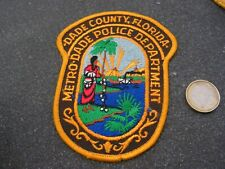 PATCH POLICE ECUSSON COLLECTION  USA   police  floride