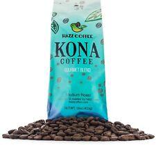 Kona Coffee Hawaiian Gold Kona Whole Bean Gourmet Blend Cafe 1 pound