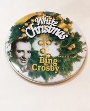 Bing Crosby CD White Christmas 1995 Tin Case 17 Songs