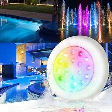 10W LED Poolbeleuchtung, IP68 Wasserdicht Teichbeleuchtung, RGB Unterwasser Lich