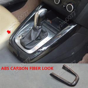 2011-2014 For VW Jetta MK6 Carbon Fiber Look Inner Gear Frame Strip Cover Trim