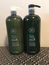 PAUL MITCHELL TEA TREE SPECIAL SHAMPOO & CONDITIONER LITER SIZE