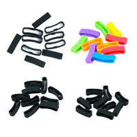 10pcs Silicone Fastener Ring for Sunnto Core Watch Strap Security Retainer