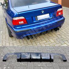 BMW E39 Limousine Heckdiffusor Diffuser M5 Duplex Hochglanz schwarz ABS gloss