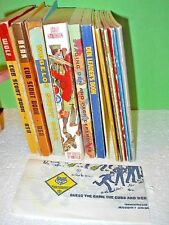 Lot 17 Cub Scout Webelos Den Leader Coach Handbooks Song Book  Vintage 1960/1970