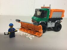 Lego City 60083: Snowplow & Sand-Spreader Truck w/ Minifig & Tools