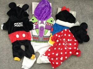 BNWT Official Disney Novelty Pet Dog Outfit Mickey Minnie Mouse Buzz Snow White