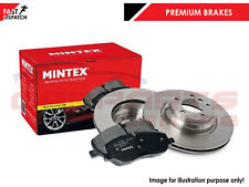 MAZDA MX5 MX-5 1.8 2.0 2005-2016 REAR SOLID MINTEX BRAKE DISCS PADS PAD SET