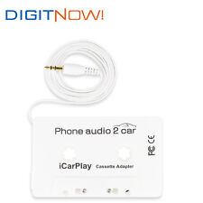 DIGITNOW! Audio Car Cassette Tape Adapter 3.5 MM For iPhone iPod MP3 MP4 WHITE