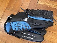 """Easton 12.5"""" FP 1250K Softball Mitt Glove Left Hand Blue Black"""