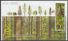 CANADA #2462-2463 INTERNATIONAL YEAR OF FORESTS FIRST DAY COVER