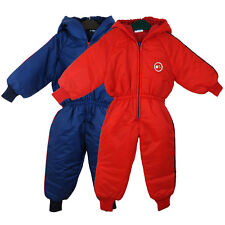 CHILD'S PUDDLE SUIT KIDS BREATHABLE WIND WATERPROOF ALL IN ONE RAINSUIT 9M - 24M