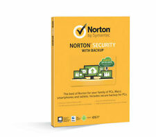 21333557 SYMANTEC Norton Security With Backup 2.0 25gb in 1 User 10 Devices Card