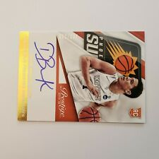 2015-16 PRESTIGE ON CARD AUTO ROOKIE DEVIN BOOKER RC SP S#'d203/299 CARD#PPS-DB