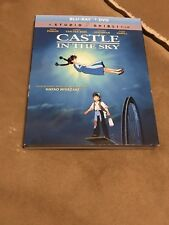 Castle in the Sky (Blu-ray/DVD, 2-Disc Set, 2017) BRAND NEW with Slip Cover