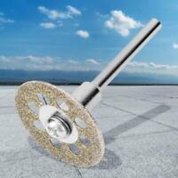 10Pcs Saw Blade Cutting Disc Diamond Mini Circular Grinding Wheel + 2pc Mandrel