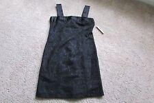 Amanda Smith Black Lace 100% Nylon Sleeveless Lined Dress Sz 14 NWT $72.00