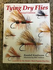Tying Dry Flies / Kaufmann Book - Learn To Tie Most Popular Flies