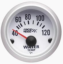 Sumex Marca 52mm De Diámetro automóvil 12v Agua Termómetro Medidor Dial-Satin Silver