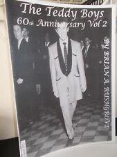 THE TEDDY BOYS 60th ANNIVERSARY MAGAZINE VOL 2, 28 PAGES, About 50 PHOTOS