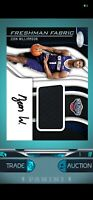Panini Dunk Certified Zion Williamson Patch Rookie Auto Rookie DIGITAL Card RC