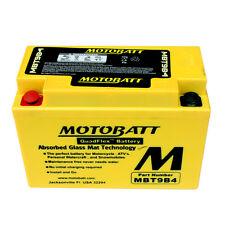 BATTERIA MOTO SCOOTER AGM MOTOBATT MBT9B4 PER MBK XT660R 660