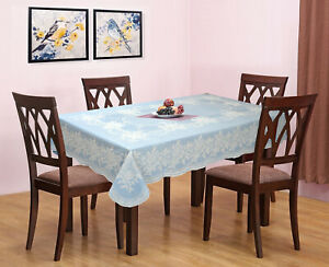 Katwa Clasic - PVC Lace Vinyl Tablecloth Rose Design (For 4-6 Seater Table)