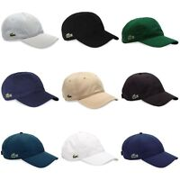 Lacoste Cap - Lacoste Cotton and Poly Cap - RK2447 - RK9811 - Black, Navy, White