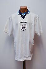 ENGLAND NATIONAL TEAM 1995/1996/1997 EURO HOME FOOTBALL SHIRT JERSEY UMBRO