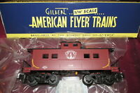 NEW American Flyer 6-47972 S Boston & Maine Cupola Caboose, Lighted