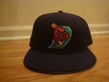VTG El Paso Diablos New Era 7 3/4 cap 90s Minor League Hat Club throwback RARE