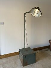 More details for vintage ww2 us army field operating lamp mid century lighting man cave prop