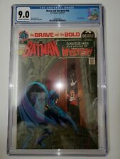 BRAVE and the BOLD #93 CGC 9.0 1971 Neal Adams BATMAN and House of Mystery