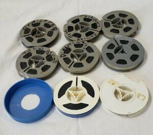 "Vintage Amateur 8mm Color Film MOVIE LOT x 8 Family?  Unwatched 3"" reels"