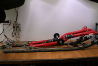 2009 POLARIS RMK 800 DRAGON 163 EZ RYDE Rear Suspension with Fox Zero Pro Shocks