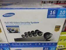 Samsung 16 Channel SDH-C75100 1080p HD Security System W/2TB HDD &10 Cameras.