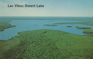 Lac Vieux Desert Lake - Land O'Lakes & Phillips, Wisconsin - unposted litho
